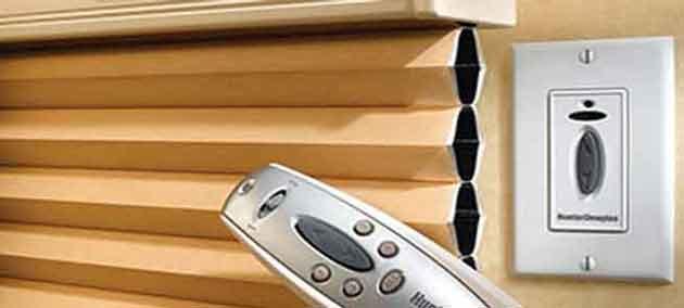 Little blind spot motorized shades hopkins minnesota for Hunter douglas motorized shades repair